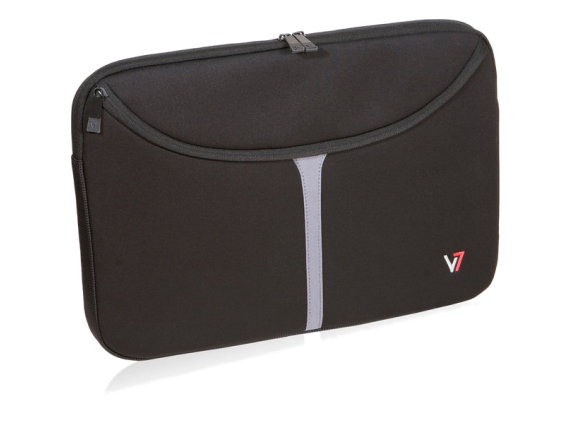 "V7 Professional CSP1-9N Carrying Case (Sleeve) for 16"" Notebook - Black - Center"