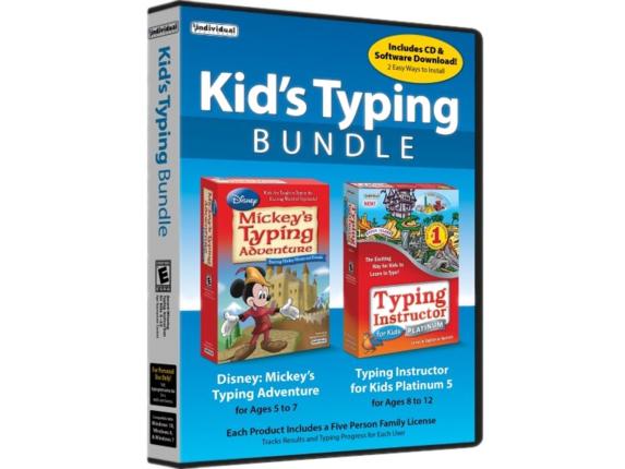 Individual Software Kid's Typing Bundle - Family License - 5 User TDB-KTB