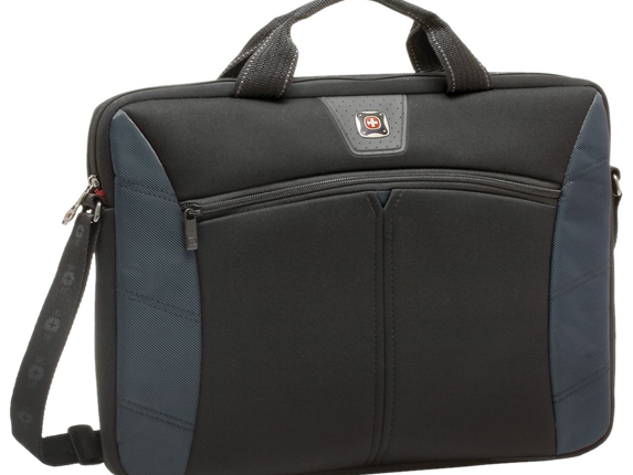 Swissgear Sherpa 17 3in Slimcase Computer Sleeve Blue Black