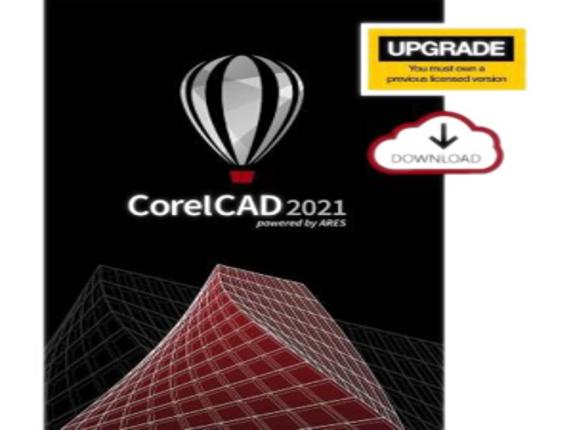 Corel CorelCAD 2021 - Upgrade License - 1 User|ESDCCAD2021MLUG