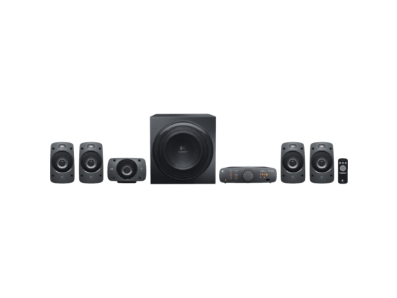 Logitech Z906 5.1 Speaker System - 500 W RMS|980-000467
