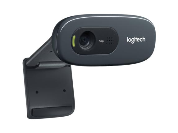 Logitech C270 Webcam - Black - USB 2.0 - 1 Pack(s)|960-000694