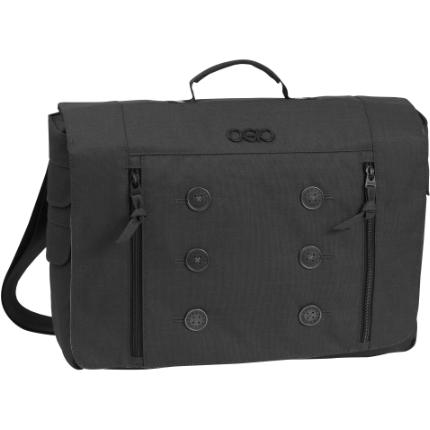 "Ogio Midtown Carrying Case (Messenger) for 15"" Notebook - Black - Center"