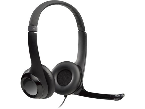Logitech Padded H390 USB Headset|981-000014