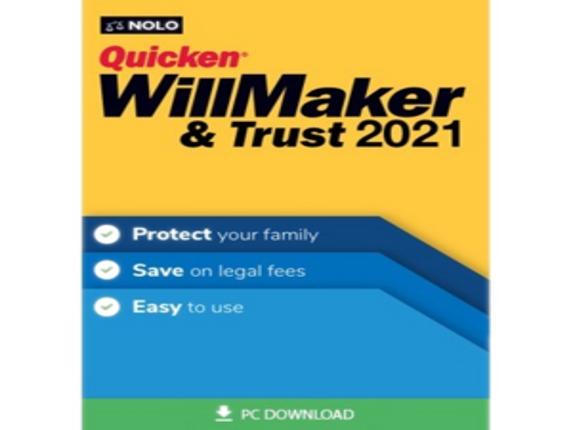 Individual Software Quicken WillMaker & Trust 2021 - 1 License ESD-WM21