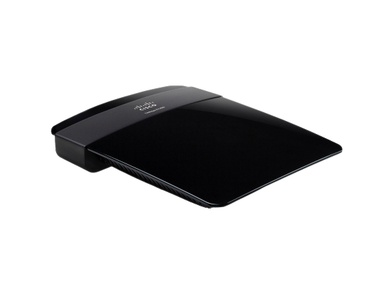 Linksys E1200 IEEE 802.11n  Wireless Router - Center