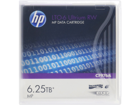 HPE LTO-6 6.25TB Ultrium RW Cartridge
