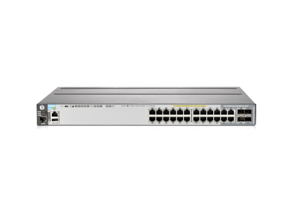 HPE 2920-24G-POE+ Switch - Center