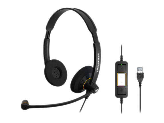 Sennheiser SC 60 USB ML Headset