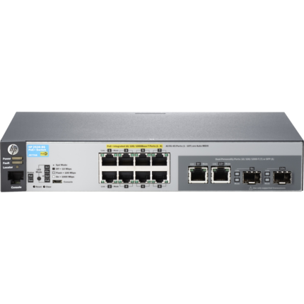 HPE 2530-8G-PoE+ Ethernet Switch