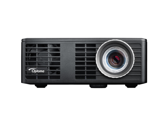 Optoma ML550 WXGA 500 Lumen 3D Ready Portable DLP LED Projector with MHL Enabled HDMI Port - Center