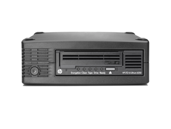 HPE StoreEver LTO-6 Ultrium 6250 SAS External Tape Drive/S-Buy - Center