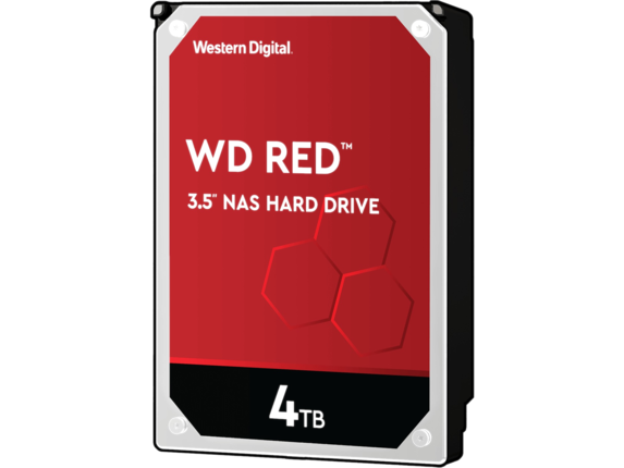 WD Red WD40EFRX 4 TB Hard Drive - 3.5