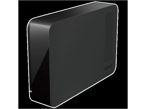 Buffalo DriveStation HD-LC3.0U3 3 TB External Hard Drive - Center