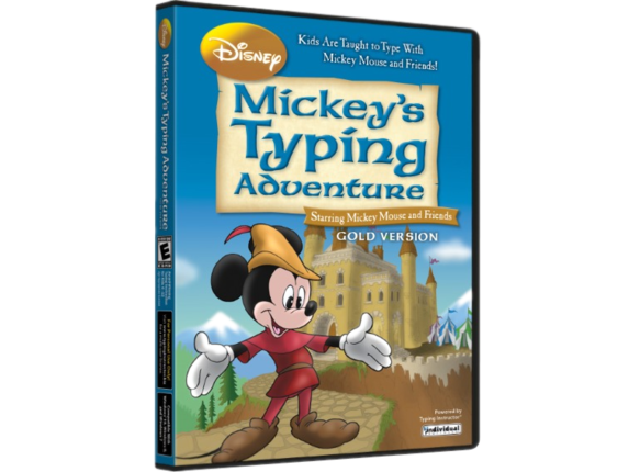 Individual Software Disney: Mickey's Typing Adventure Gold - License - 1 License ESD-MTAG