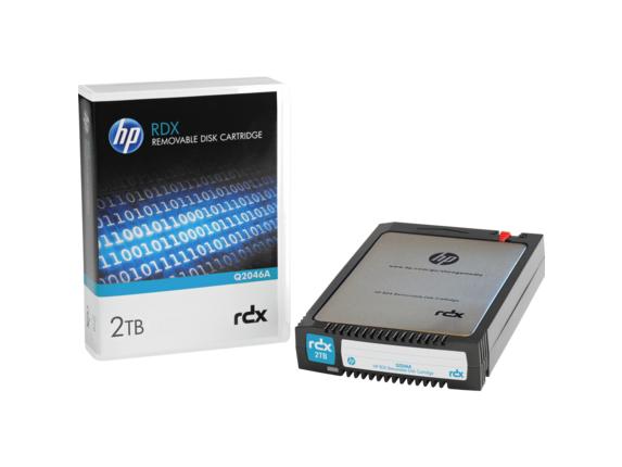 "HPE 2 TB 2.5"" RDX Technology Hard Drive Cartridge - Removable"