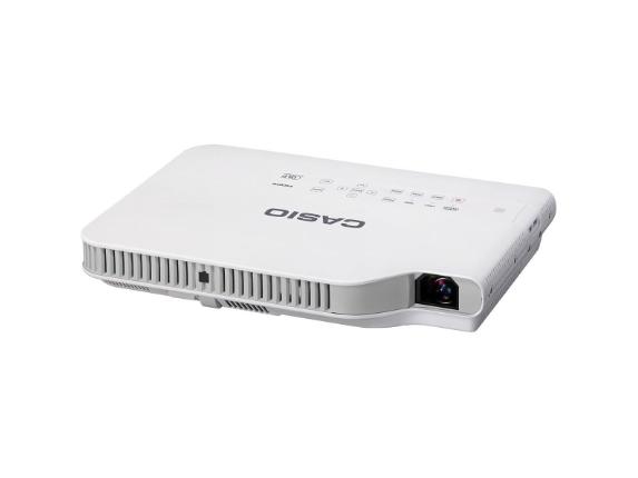 Casio Slim XJ-A142 DLP Projector - 720p - HDTV - 4:3 - Center