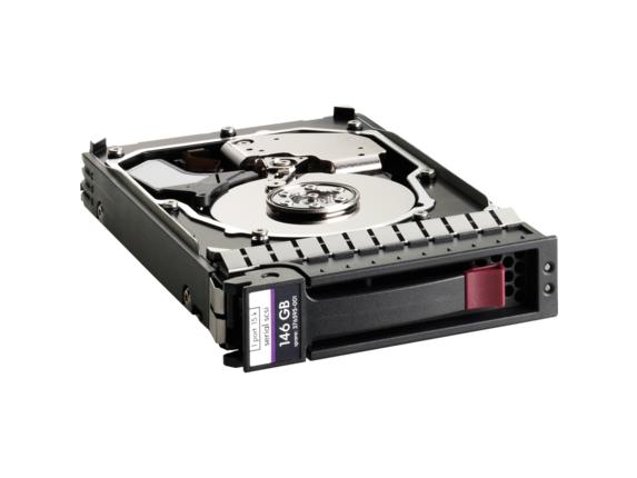 "HPE 300 GB 3.5"" Internal Hard Drive - SAS - Center"