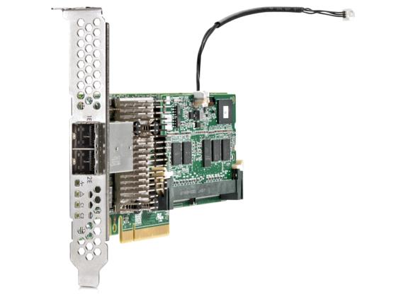 HPE Smart Array P441/4GB FBWC 12Gb 2-ports Ext SAS Controller - Center