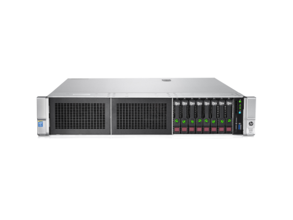 HPE ProLiant DL380 G9 2U Rack Server - 2 x Intel Xeon E5-2670 v3 Dodeca-core (12 Core) 2.30 GHz - 64 GB Installed DDR4 SDRAM - Center