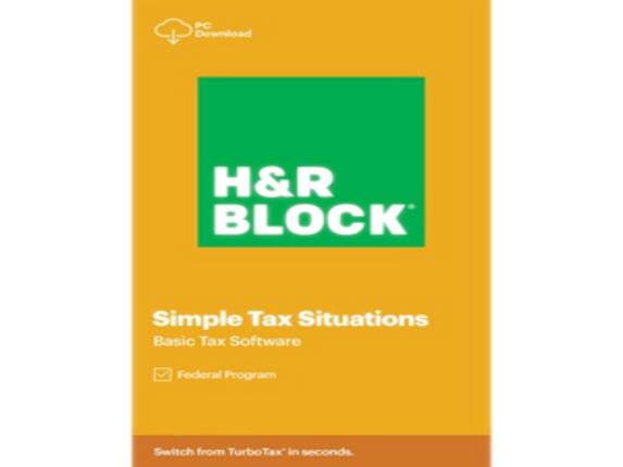 H&R Block 2020 Basic Tax Software - License - 1 License|1013800-20