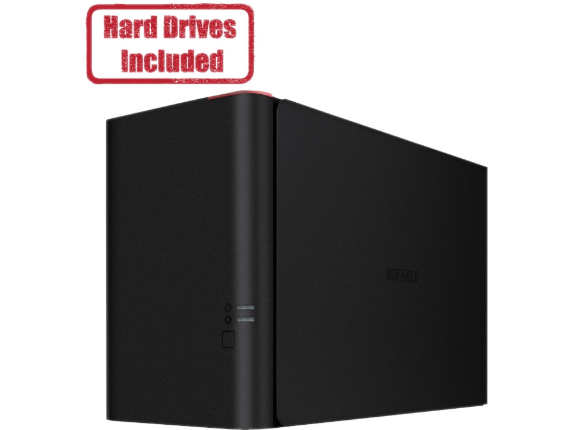 Buffalo TeraStation 1200D Desktop 8 TB NAS Hard Drives Included