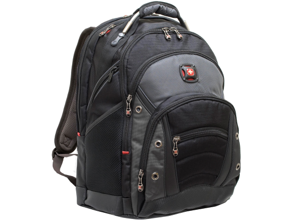 "Swissgear SYNERGY Carrying Case (Backpack) for 15.6"" Notebook - Black, Gray"