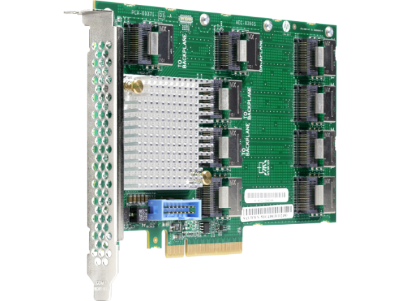 HPE 12Gb SAS Expander Card for ML350 Gen9 - Center
