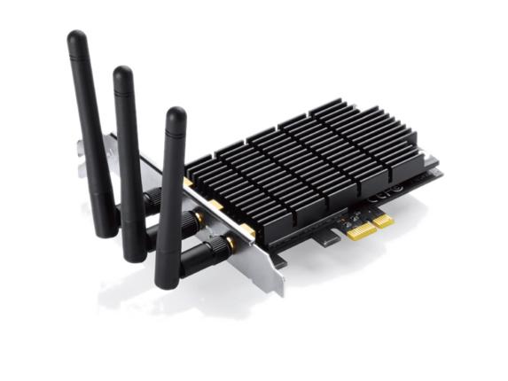 TP-LINK Archer Archer T9E IEEE 802.11ac - Wi-Fi Adapter for Desktop Computer - Center