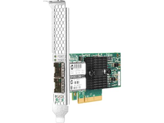 HPE Ethernet 10Gb 2-port 546SFP+ Adapter - Center