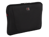 "Swissgear Carrying Case (Sleeve) for 14"" Notebook - Black - Center"