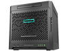 HPE ProLiant MicroServer Gen10 Ultra Micro Tower Server - 1 x AMD Opteron X3421 Quad-core (4 Core) 2.10 GHz - 8 GB Installed - Center