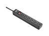 Schneider Electric Power Strip 6 Outlet 2 Foot Cord Dual Pack 120V Black