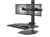 Innovative Winston Workstation Dual Freestanding Sit-Stand