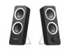 Logitech Z200 2.0 Speaker System - Black - Center