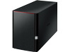 LinkStation 220 4TB Personal Cloud Storage with Hard Drives Included - Center