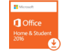 Microsoft Office 2016 Home & Student - License - 1 PC - Non-commercial - Word 2016, Excel 2016, PowerPoint 2016, OneNote 2016 - Center