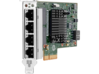 HPE Ethernet 1Gb 4-port 366T Adapter - Center